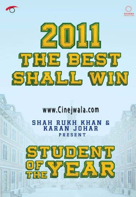 Siddharth Malhotra Student of the Year  Latest Movie New posters 2012