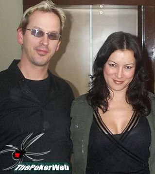 Jennifer Tilly  and Phil Laak
