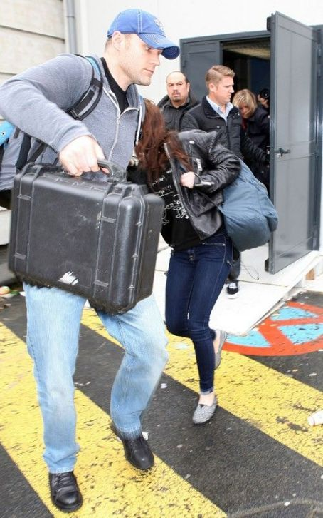 Kristen Stewart Arrives in France for SWATH Promotional Tour