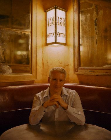 Anderson Cooper  looking well-lit.