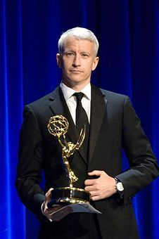 Anderson Cooper Emmy-winning broadcast journalist .
