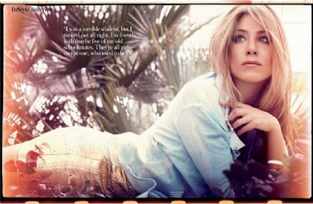 Jennifer Aniston - InStyle Magazine Pictorial [United Kingdom] (May 2012)