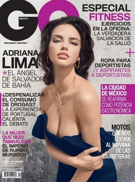 Adriana Lima - GQ Magazine Cover [Mexico] (February 2012)