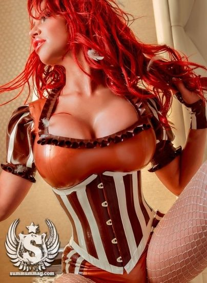 Bianca Beauchamp  - Summum Magazine Pictorial [Canada] (June 2014)