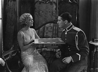 Miriam Hopkins  and Maurice Chevalier