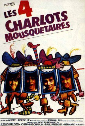 The Four Charlots Musketeers (1974) Poster
