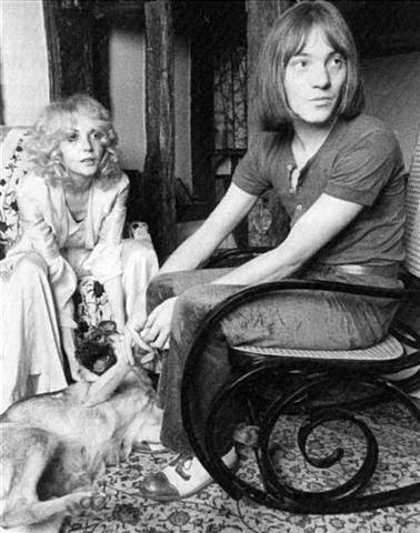 Steve Marriott  and Jenny Rylance
