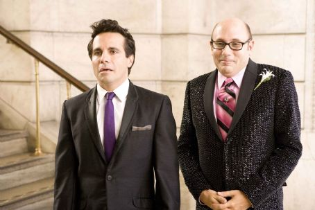 "Willie Garson Mario Cantone (left) stars as ""Anthony Marantino"" and  (right) stars as ""Stanford Blatch"" in New Line Cinema's upcoming release of SEX AND THE CITY. Photo Credit: Craig Blankenhorn/New Line Cinema"