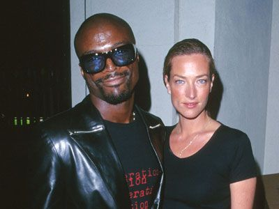 Seal and Tatjana Patitz