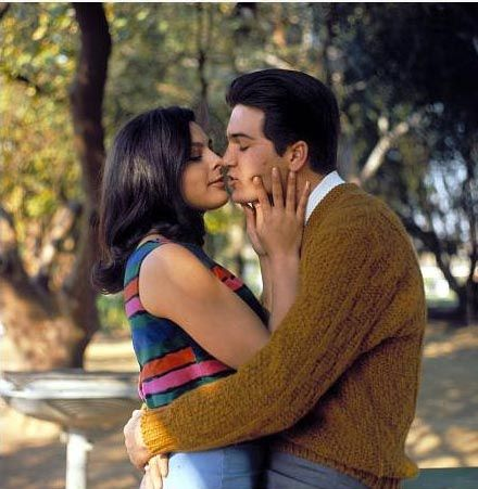 Brenda Benet Paul Petersen and  Share a Kiss in 1965