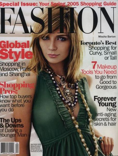 Mischa Barton - Fashion Magazine Cover [Canada] (April 2005)