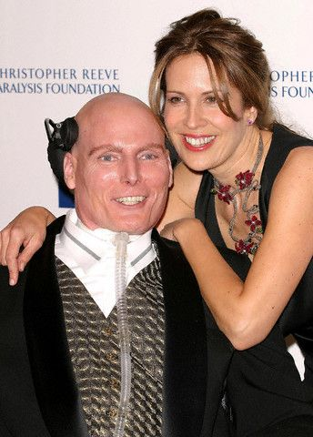 Christopher Reeve  and Dana Reeve