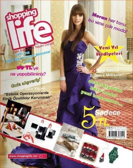 Shopping Life Magazine Cover [Turkey] (December 2011)