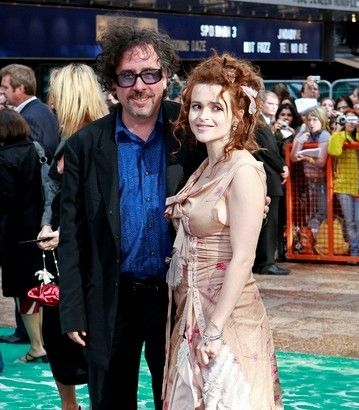 Helena Bonham Carter Helena with husband Tim Burton