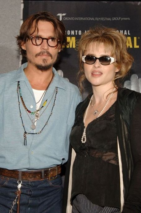 Helena Bonham Carter Helena with Johnny Depp