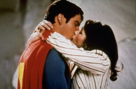 Margot Kidder  and Christopher Reeve in Superman II (1980)