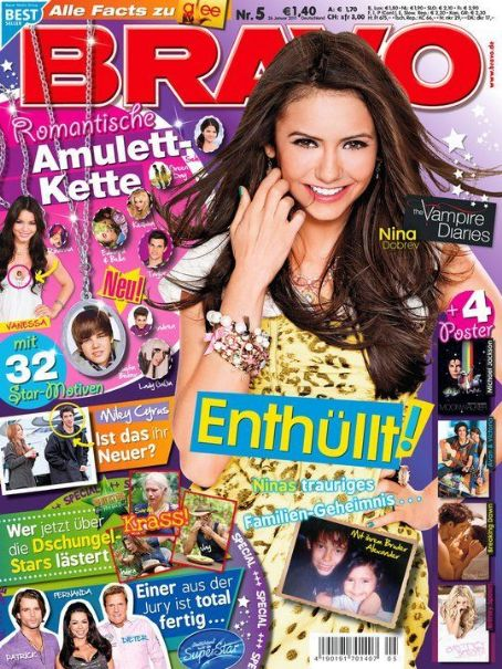 Nina Dobrev - Bravo Magazine Cover [Germany] (26 January 2011)