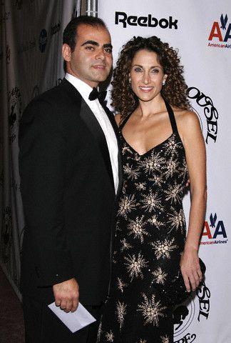 Melina Kanakaredes  and Peter Constantinades