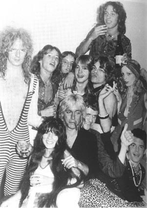 Iggy Pop  and Corel Shields, with Sable Starr and friends
