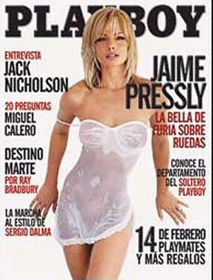 Jaime Pressly - Playboy Magazine Cover [Mexico] (February 2004)