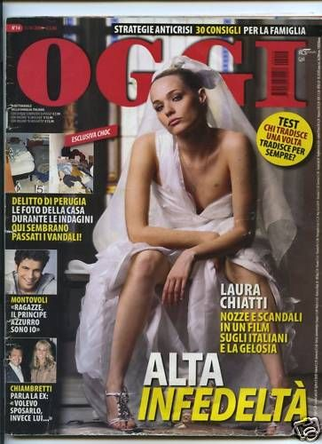 Laura Chiatti - Oggi Magazine Cover [Italy] (1 April 2009)
