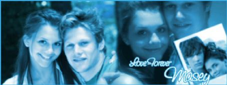 Zach Roerig  and Alexandra Chando