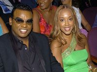 Ronald Isley and Kandy Johnson