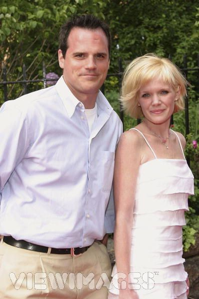 Maura West  and Michael Park