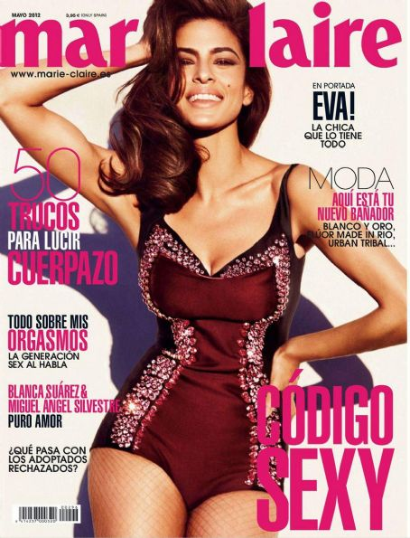 Eva Mendes Marie Claire Spain May 2012