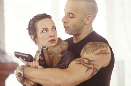 xXx Asia Argento and Vin Diesel in Columbia's XXX - 2002