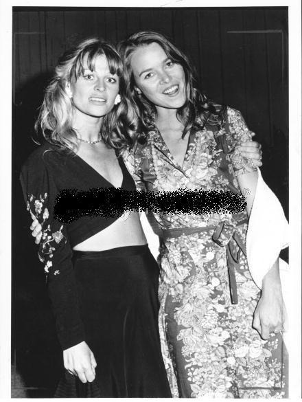 Michelle Phillips - with julie christie