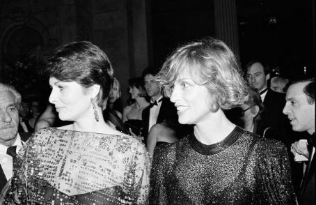Cristina Ferrare Christina Ferrare and Lauren Hutton