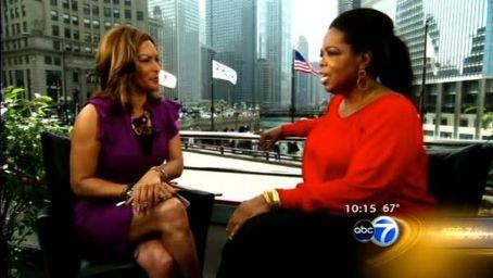 Cheryl Burton  & Oprah Winfrey