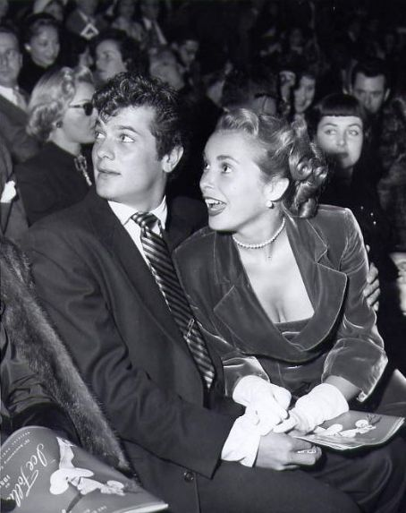 Tony Curtis Janet Leigh and  on their first date