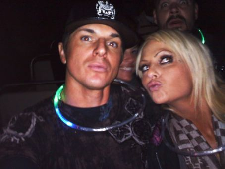 Christine Dolce and Zak Bagans