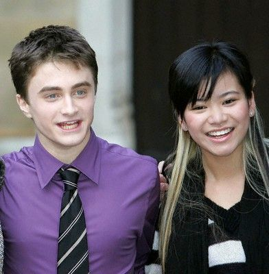 Harry Potter and the Order of the Phoenix Daniel Radcliffe and Katie Leung