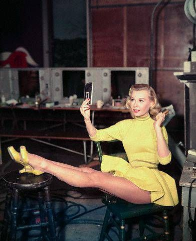 Vera-Ellen Vera- Ellen during the filming of