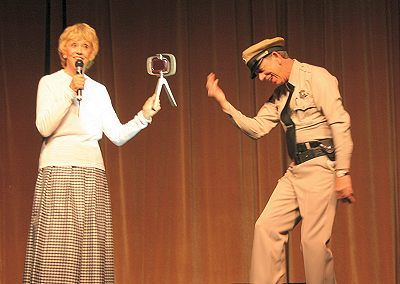 Maggie Mancuso Maggie Peterson & Don Knotts At The Mayberry Reunion