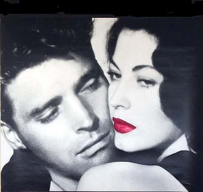 Burt Lancaster Ava Gardner and  in The Killers (1946)