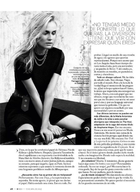 Diane Kruger - S Moda Magazine Pictorial [Spain] (6 April 2013)