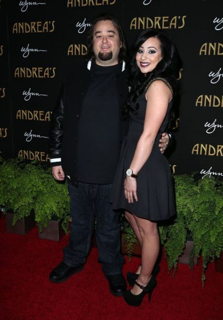 Austin 'Chumlee' Russell Chum with girlfriend