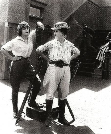Mary Thurman and Polly Moran