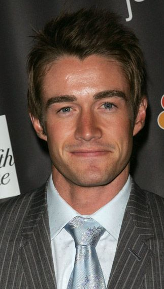 Robert Buckley  grin