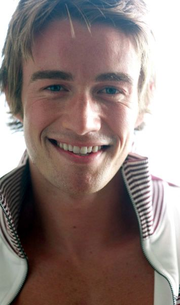 Robert Buckley  smiles.....sigh
