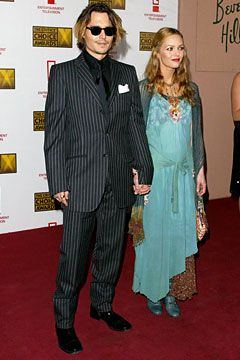 Vanessa Paradis Johnny Depp and