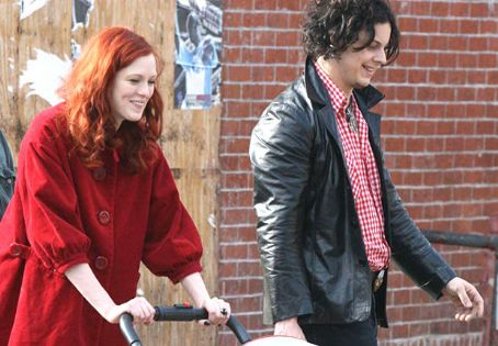 Karen Elson Jack White and