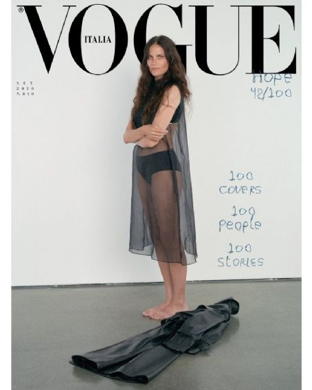 Missy Rayder - Vogue Magazine Cover [Italy] (September 2020)