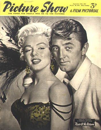 Robert Mitchum Marilyn Monroe