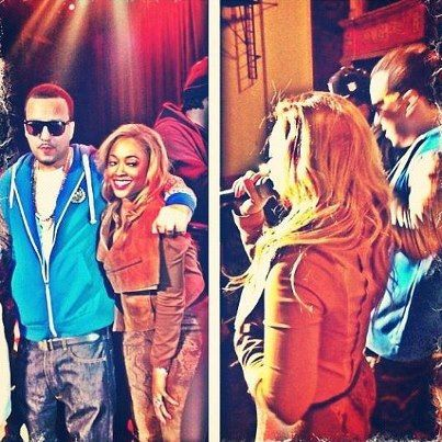 French Montana  and Trina