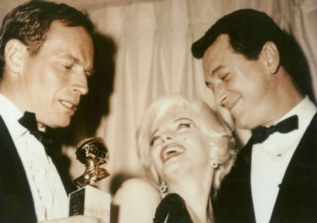 Charlton Heston Marilyn Monroe